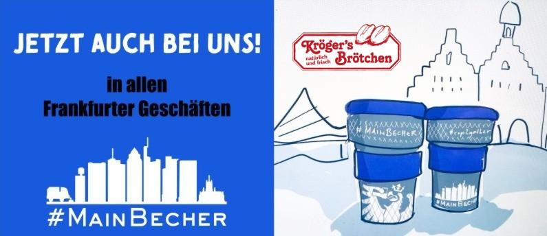 Der #MainBecher ist da und wir sind in Frankfurt dabei!
